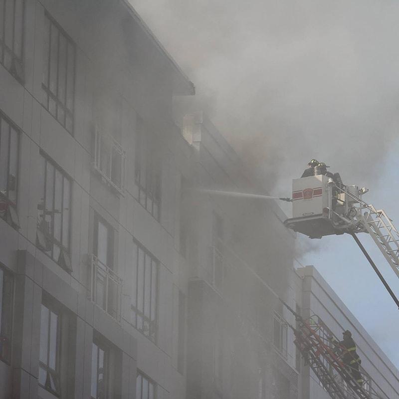 ניקיון דירה אחרי שריפה